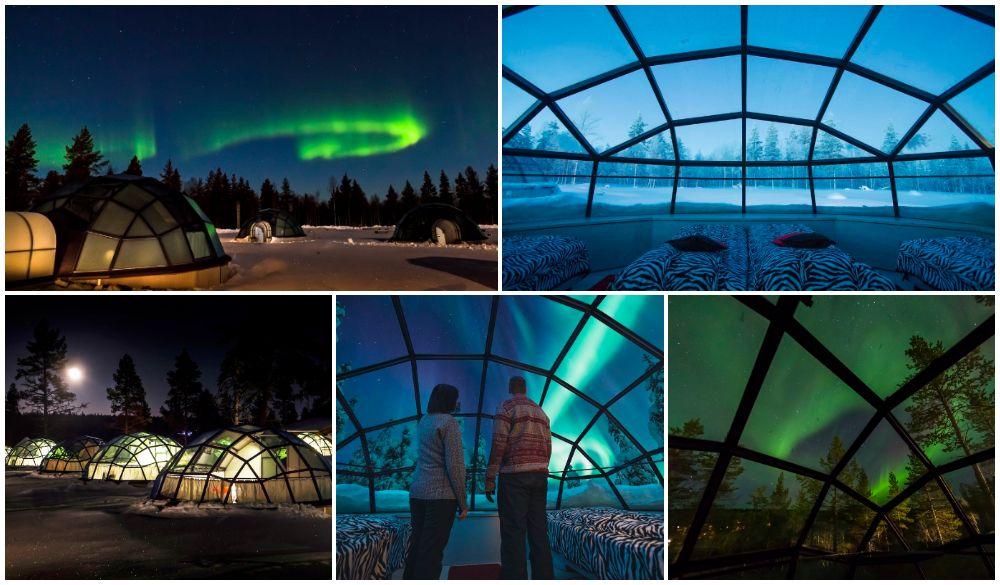 Kakslauttanen Arctic Resort, NORTHERN LIGHTS HOTEL
