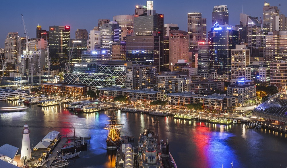 Darling Harbour, harbour view hotel