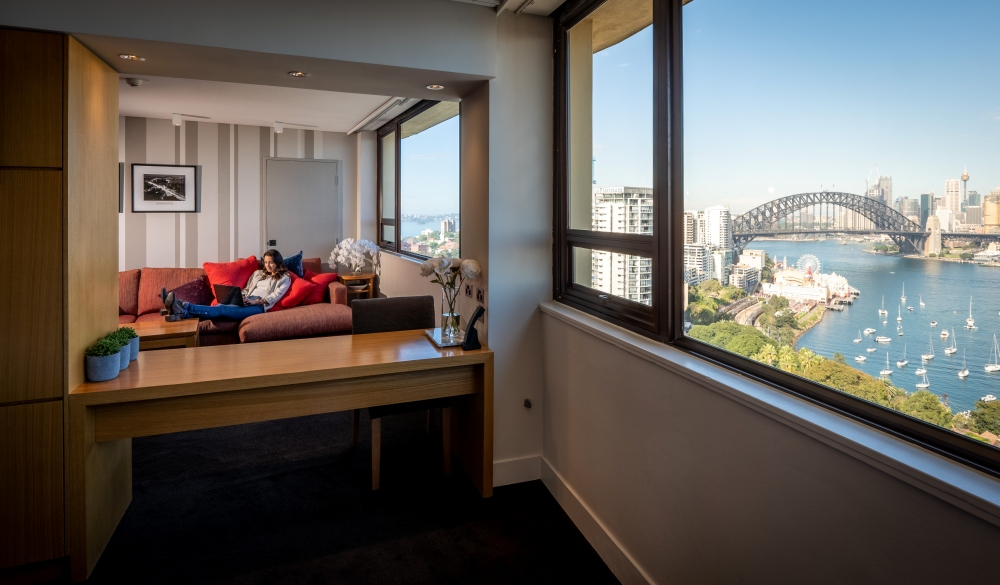 view Sydney, harbour view hotels
