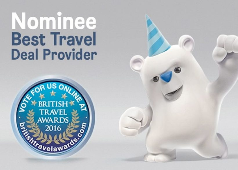 Win a stack of travel prizes when you vote for Max!