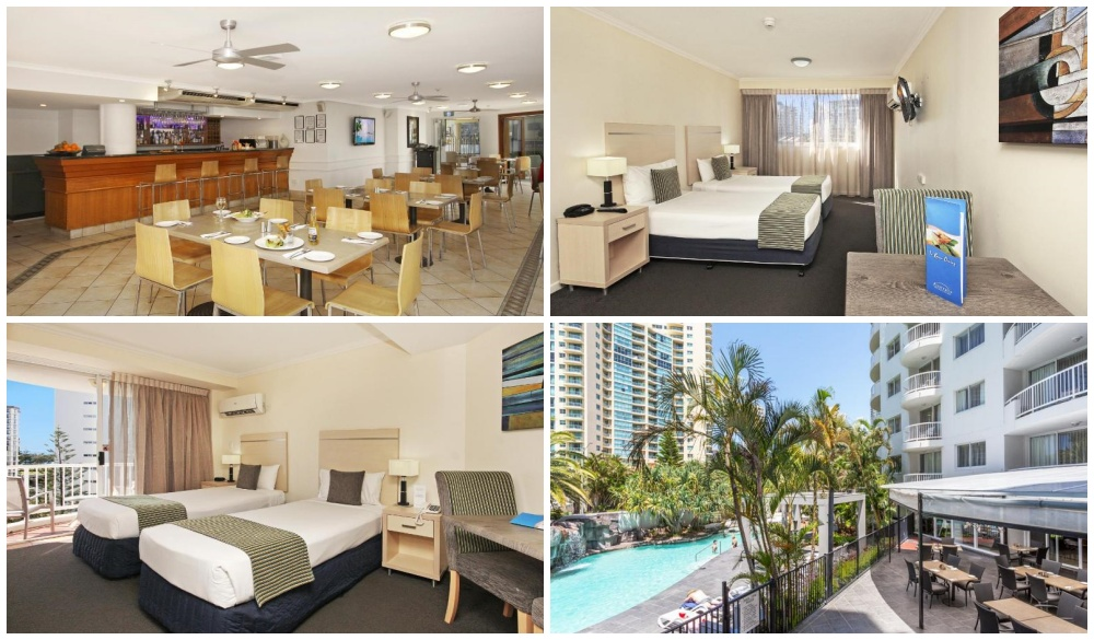 Alpha Sovereign Hotel, Gold Coast hotels with pools