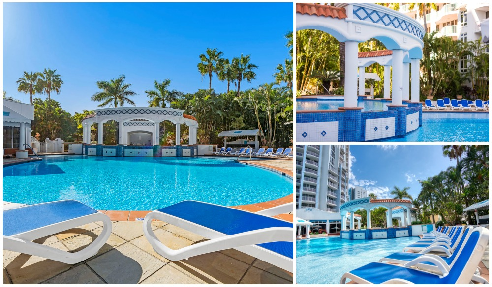 Bel Air on Broadbeach, Gold Coast hotels with pools