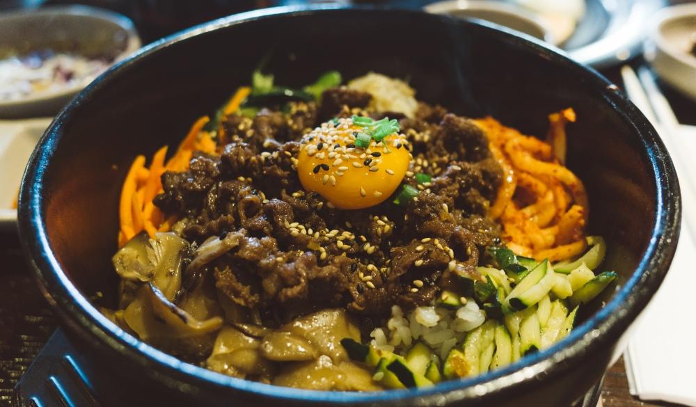 Korean dish called Bibimbap,