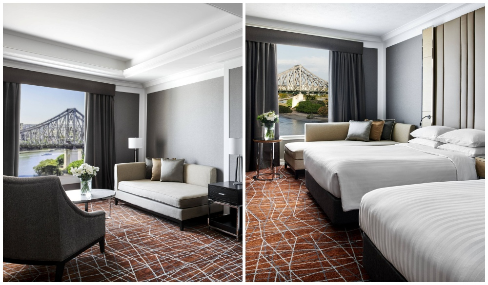 Brisbane Marriott Hotel, spa baths hotels