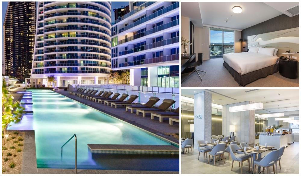 Hilton Surfers Paradise Hotel, Gold Coast hotels with pools