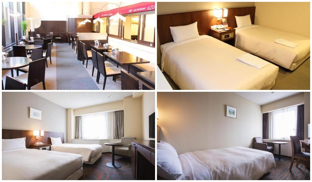 Hotel Sunroute New Sapporo, hokkaido travel guide