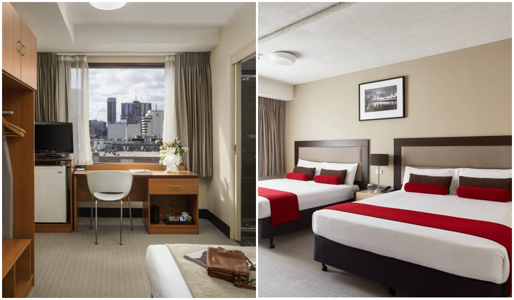 Mercure Welcome Melbourne, hotel with restaurant