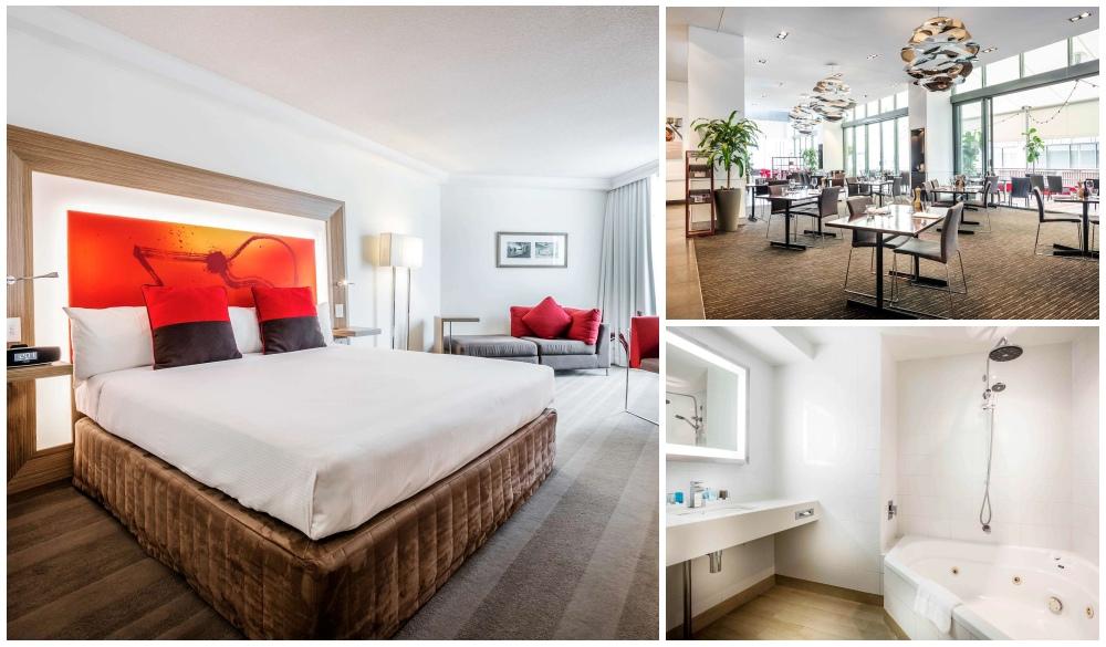 Novotel Brisbane, spa baths hotels