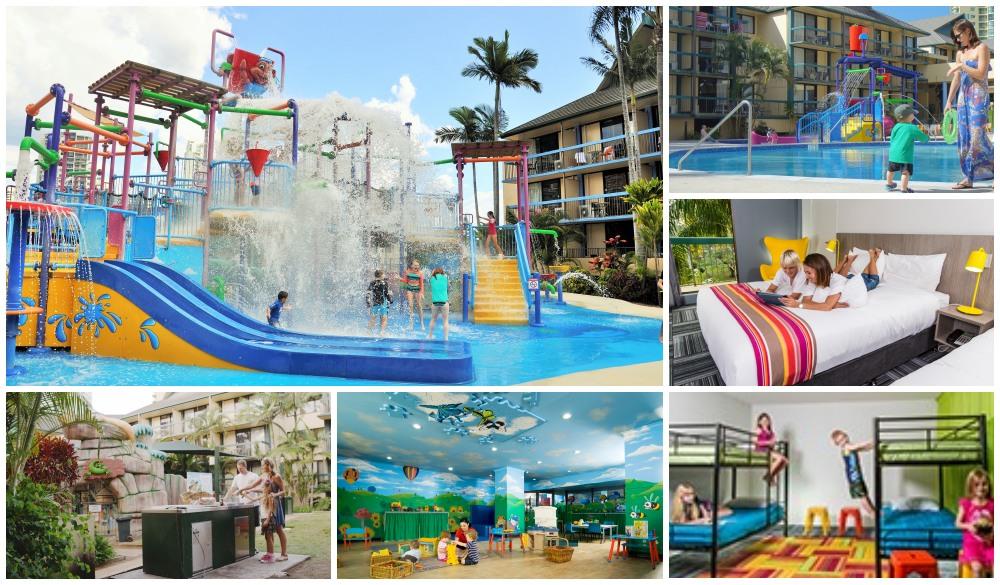Paradise Resort Gold Coast, Gold Coast hotels with pools