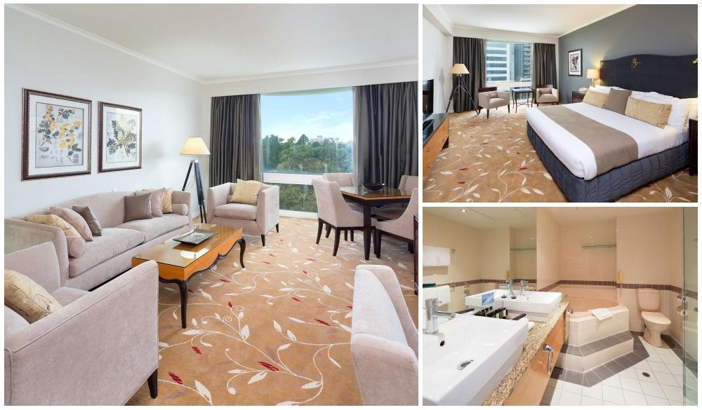 Royal on the Park, Brisbane spa baths Hotels