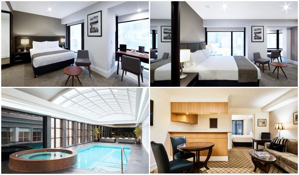 Stamford Plaza Melbourne, hotel with restaurant