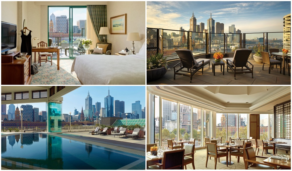 The Langham Melbourne, hotel with restaurant