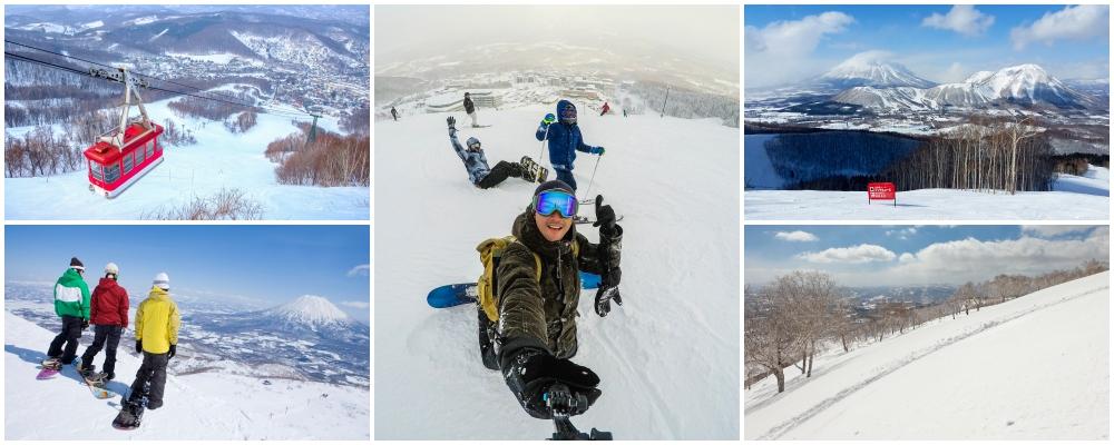 Rusutsu, skiing in hokkaido