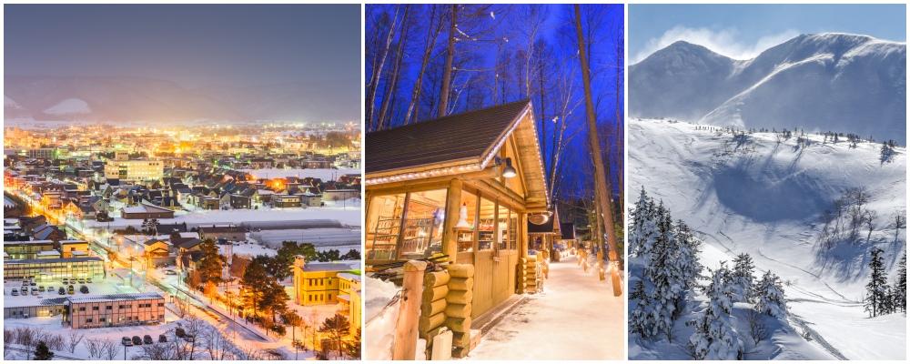 Furano, skiing in Hokkaido