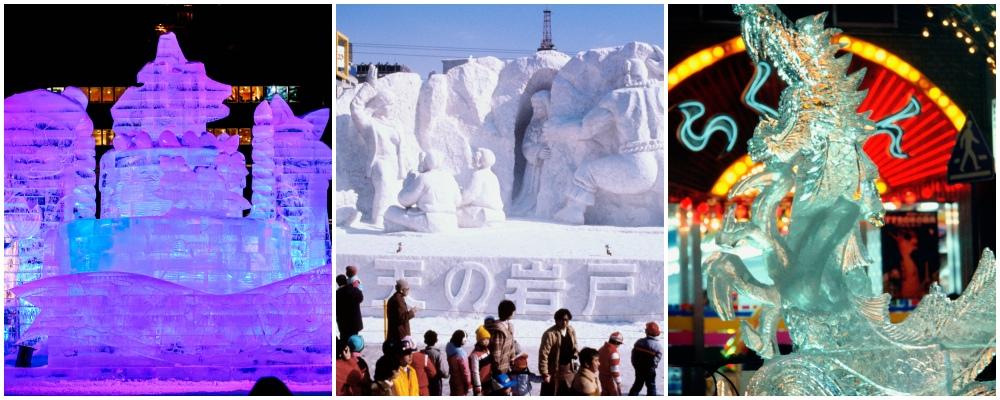 Odori Site, Hokkaido snow festival