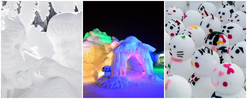 Tsudome Site, hokkaido snow festival