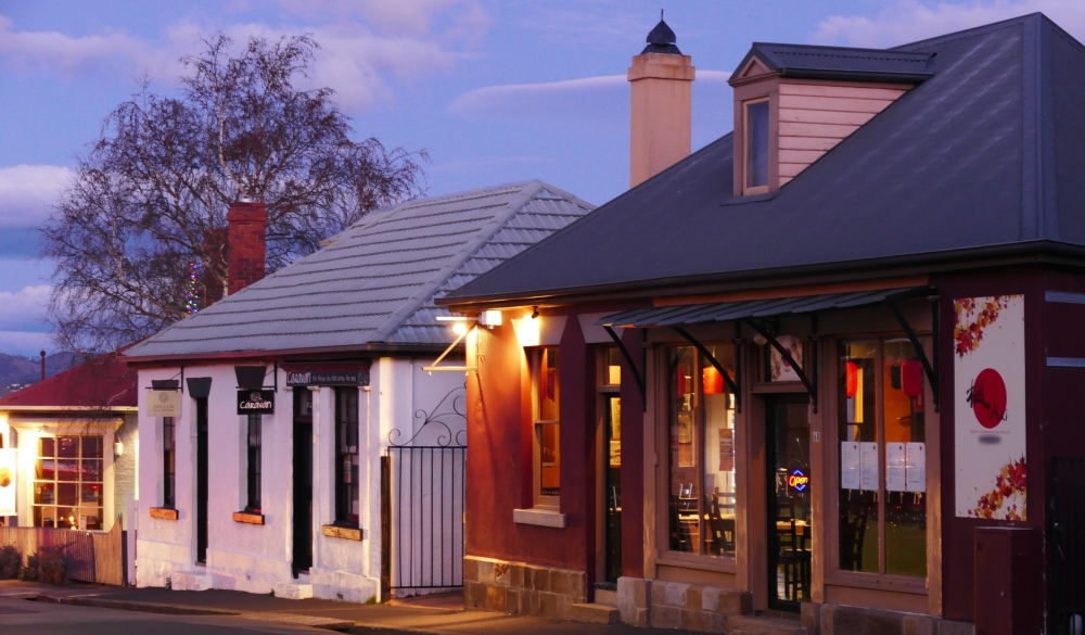 Battery point is the oldest and most historic suburb of Hobart