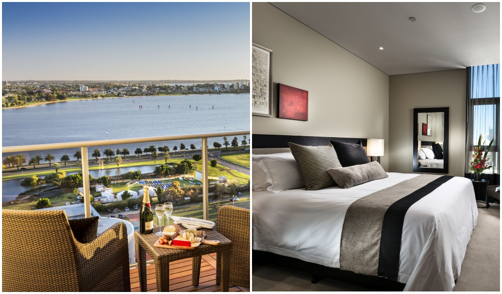 Fraser Suites Perth, waterfront hotels