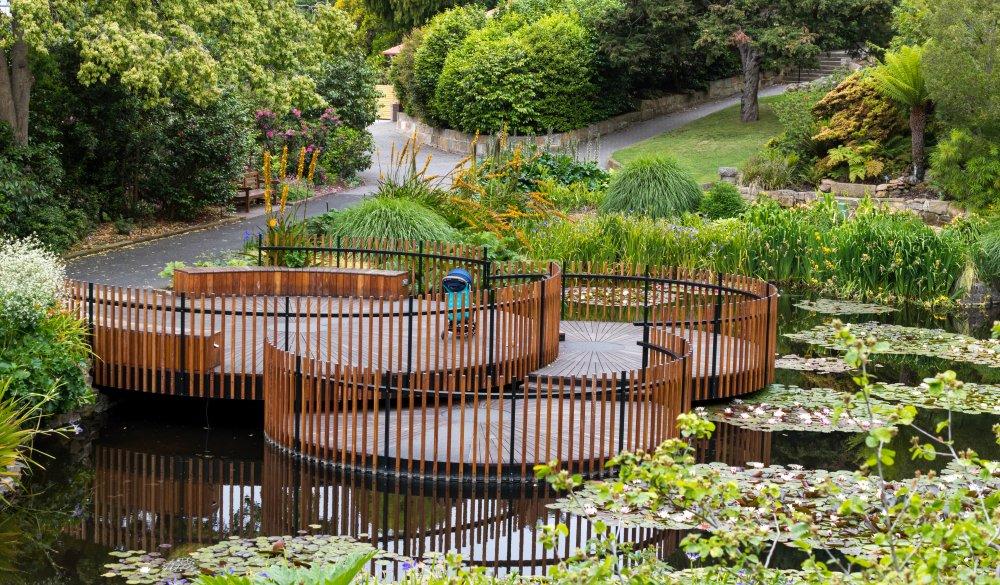 Pond at Royal Botanical Garden.