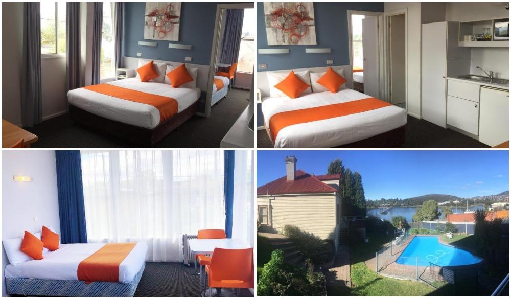 Waterfront Lodge Motel, Hobart hotel