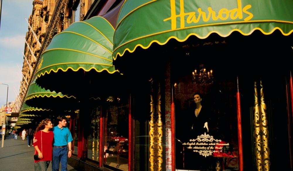 Harrods in London, sightseeing guide