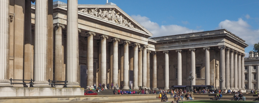 The British Museum in London, sightseeing guide