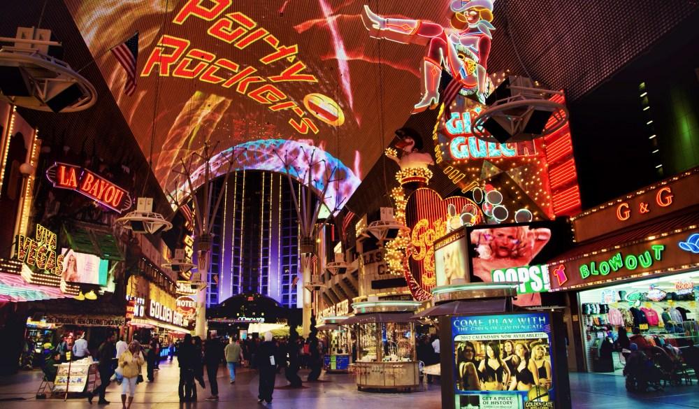 Bright Lights, Big City! Las Vegas Fremont Street