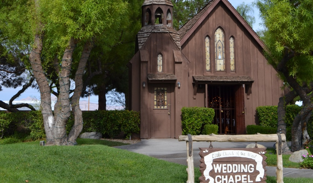 Little Church of the West wedding chapel