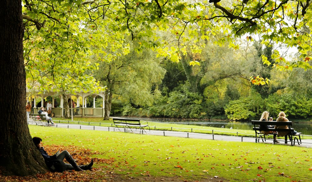 St Stephen's Green is a city centre public park in Dublin