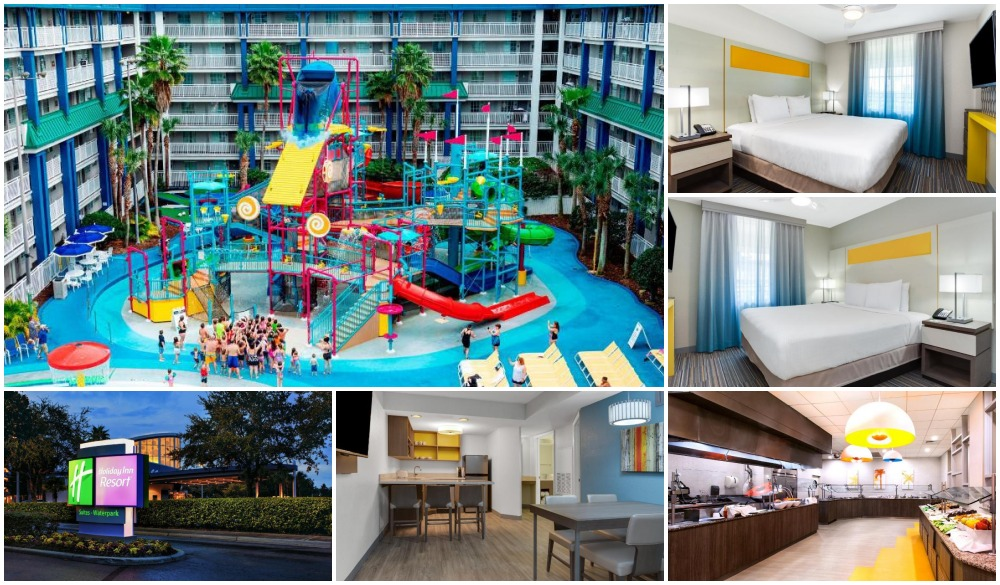 Holiday Inn Resort Orlando Suites – Waterpark, family hotel