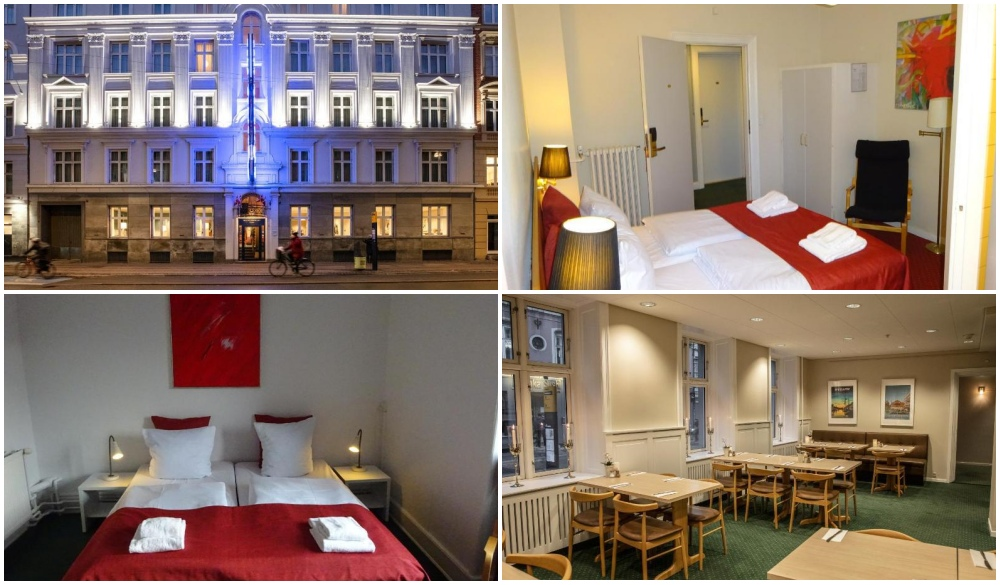 Hotel Nebo, Copenhagen city centre hotel