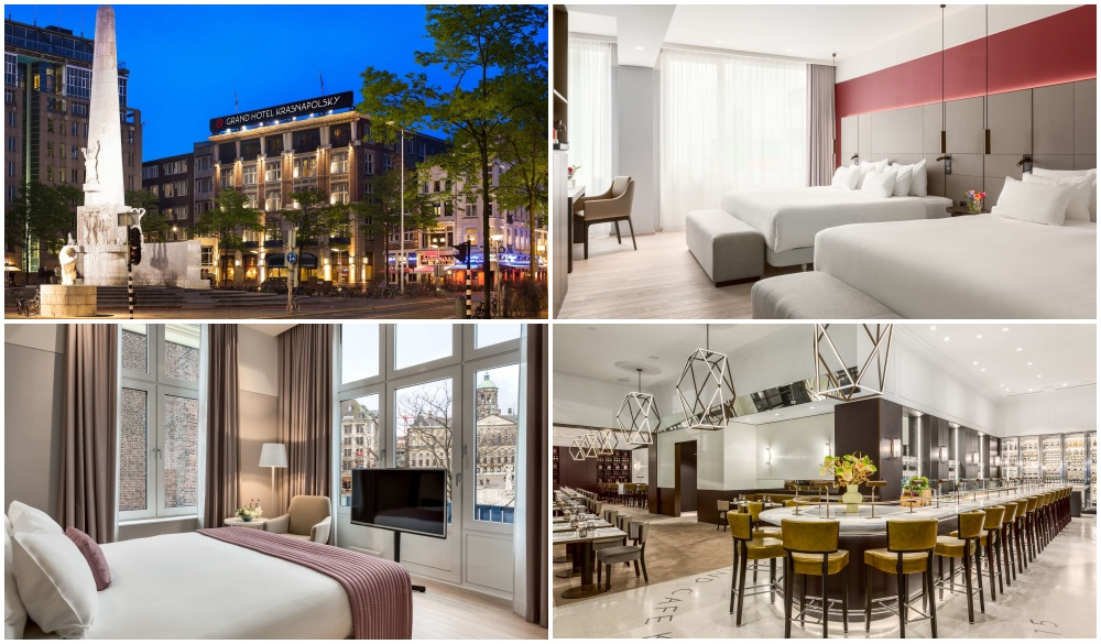 NH Collection Amsterdam Grand Hotel Krasnapolsky, hotel near red light district