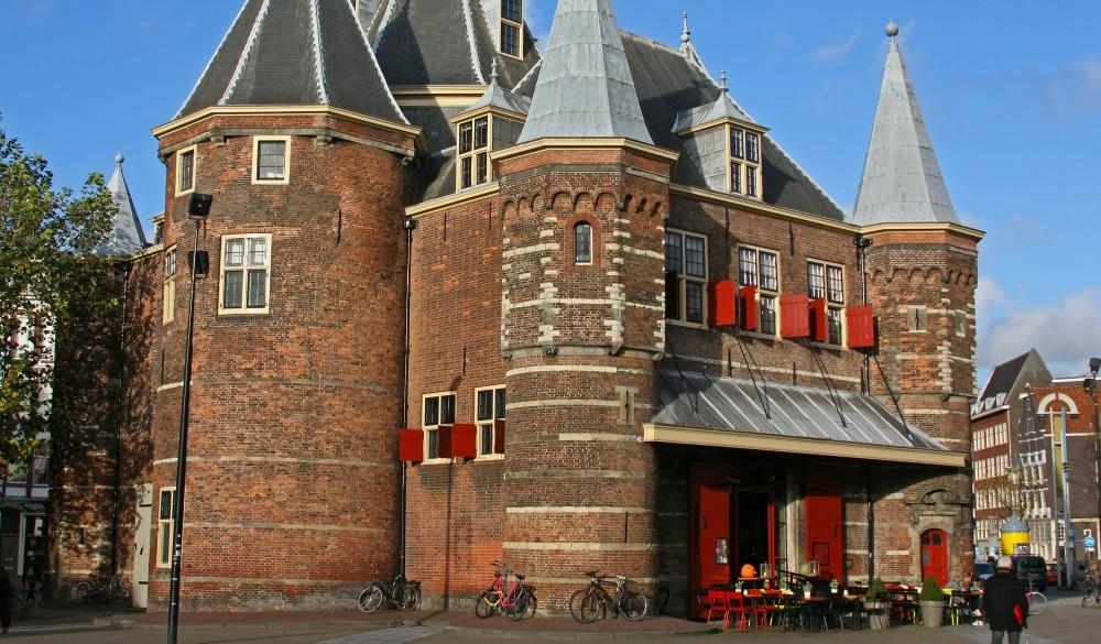 Nieuwmarkt in Amsterdam,red light district