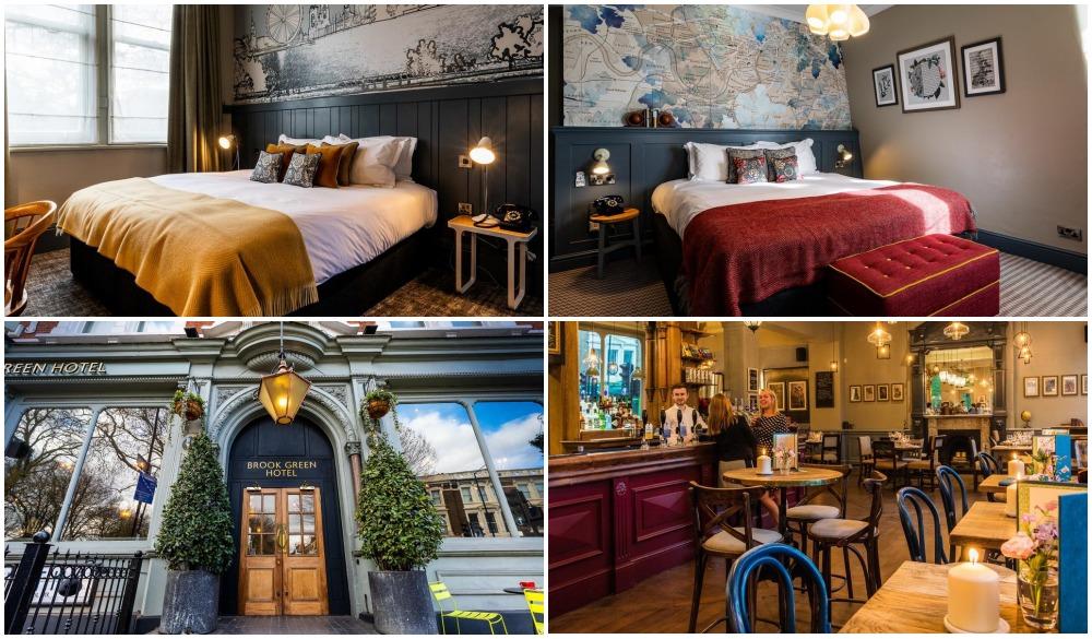 The Brook Green Hotel, hotel near London pub