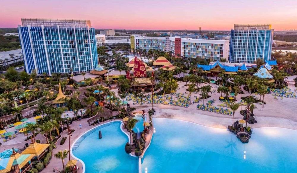 Universal's Cabana Bay Beach Resort, family hotel