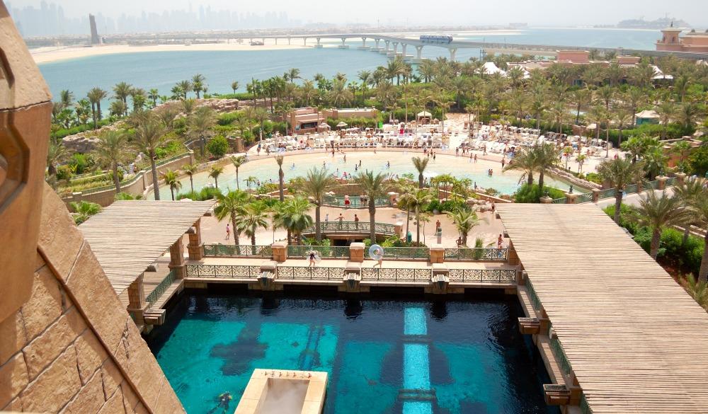 Waterpark of Atlantis the Palm hotel, Duba