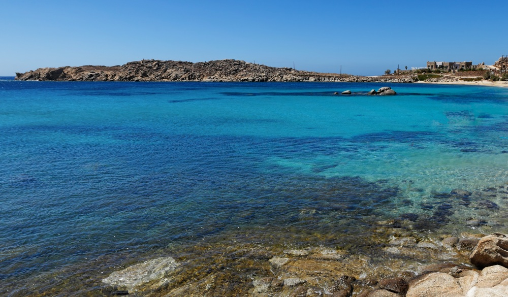 Paraga is the most exotic beach in Mykonos,