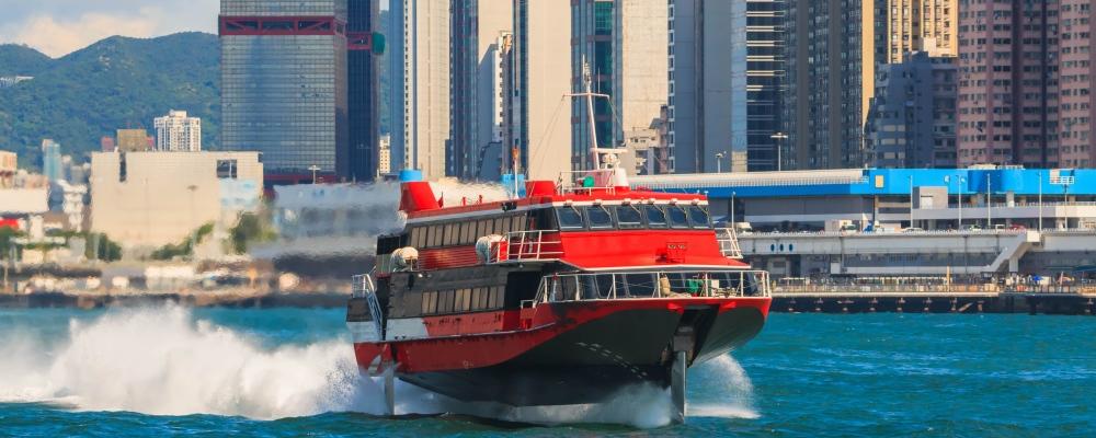Speedboat is a passenger boat between Hong Kong and Macau