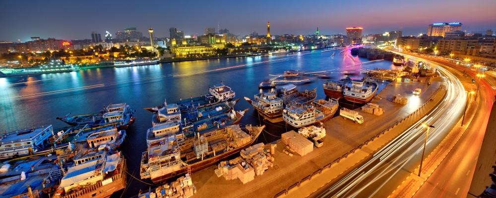 The oldtown Dubai