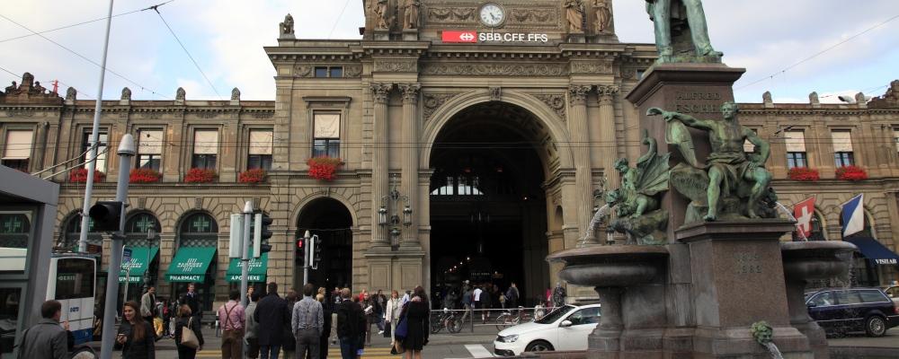 Zurich Central Railway Station