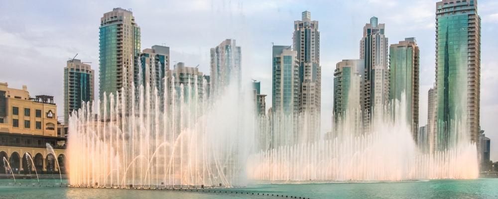 The Dubai Fountain,
