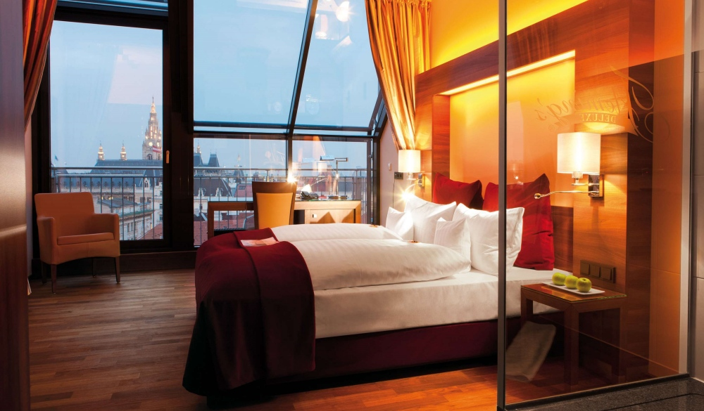 Fleming's Selection Hotel Wien-City, luxurious romantic hotel in Vienna