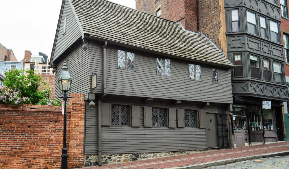 Paul Revere House, Boston Historical site