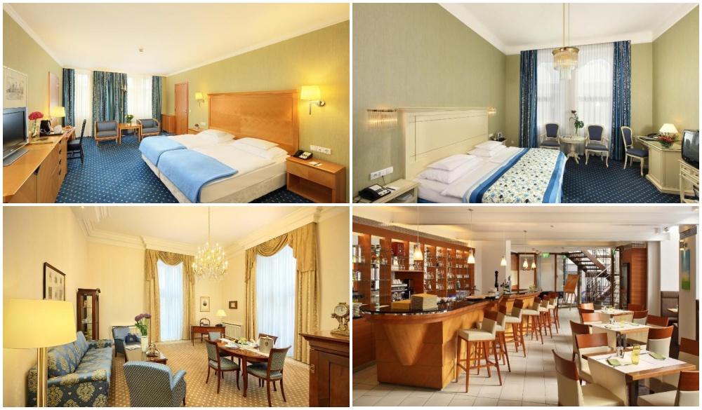 Hotel De France Vienna luxurious romantic hotel