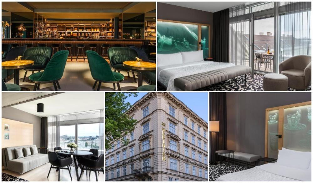 Le Meridien Vienna, luxurious romantic hotel