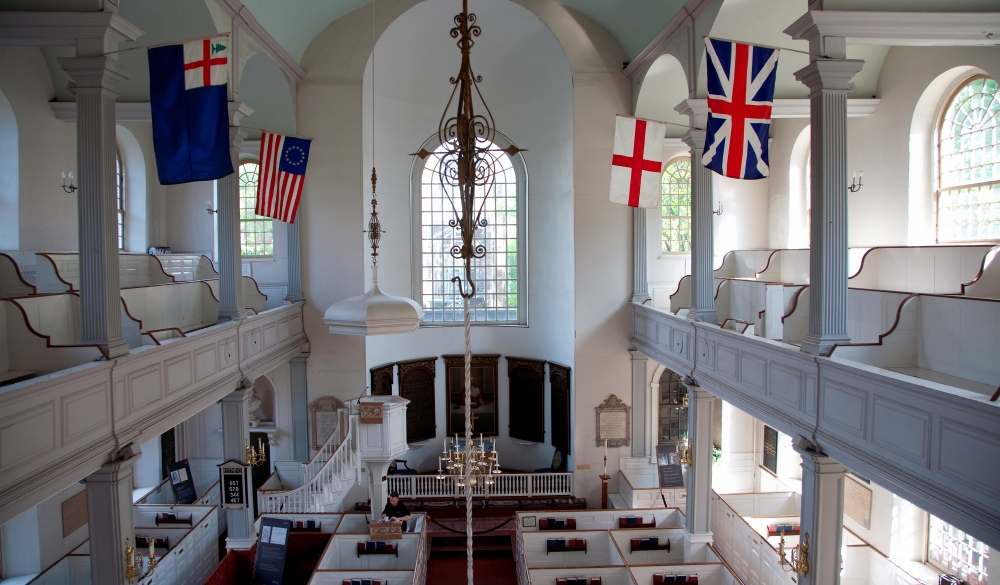 Old North Church, Boston Historical Site