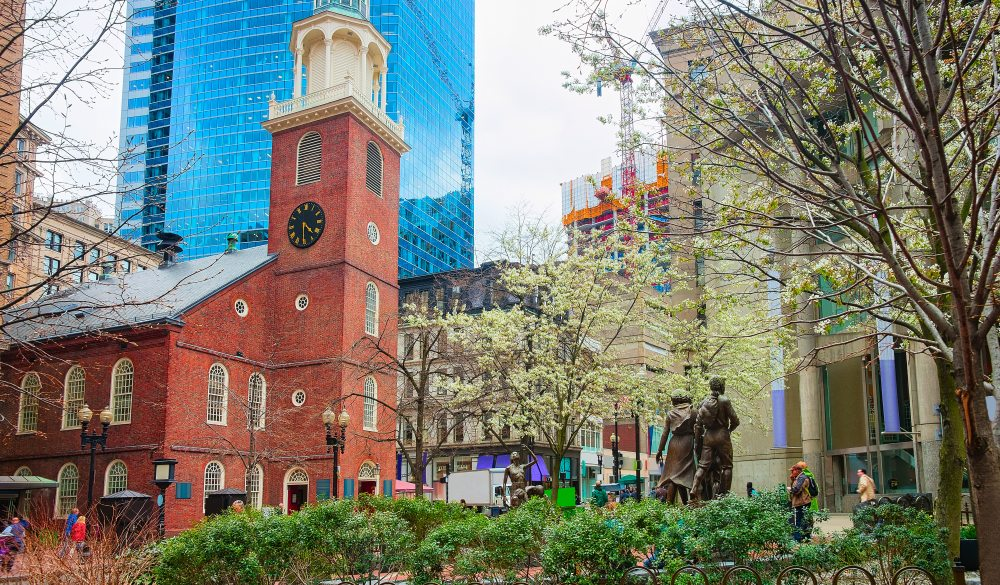 Old South Meeting House, Boston historical site