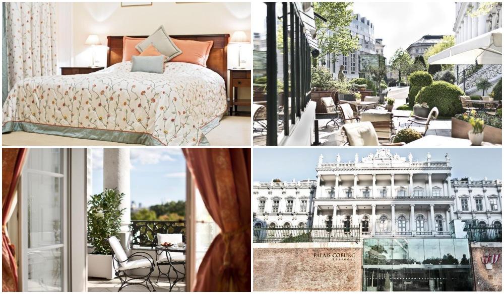 Palais Coburg Hotel Residenz, luxurious romantic hotel in vienna