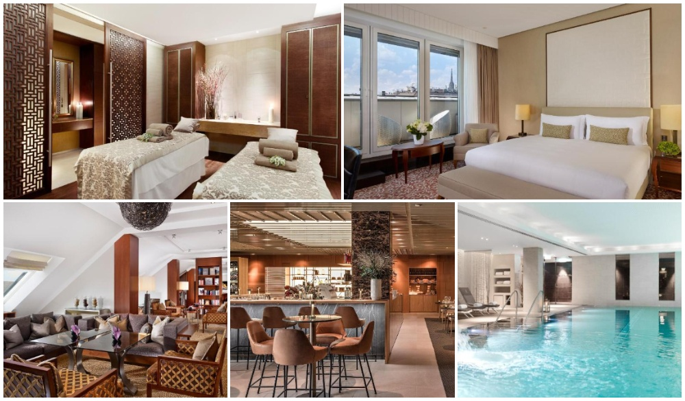 The Ritz-Carlton Vienna, luxurious romantic hotel