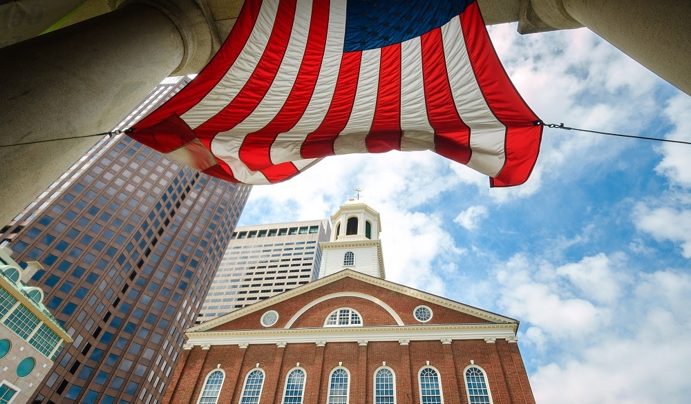 Faneuil Hill, one of the top Boston historical sites to visit